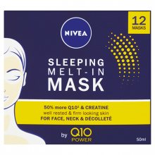 Nivea Noční maska pro obnovu pleti s koenzymem Q10 Power (Sleeping Mask) 50 ml