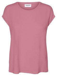 Vero Moda Dámské triko Ava Plain Ss Top Ga Noos Foxglove XS