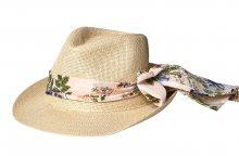 Vero Moda Dámský klobouk Asta Scarf Hat Misty Rose S/M
