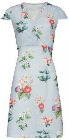 Smashed Lemon Dámské krátké šaty Light Blue 18385/17 S