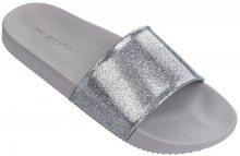Zaxy Dámské pantofle Snap Slide Glitter Fem 82440-90542 Glitter Silver 37