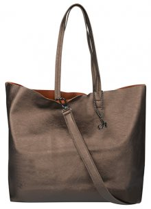 Deha Dámská kabelka Shopping Bag D63227 Leather Brown