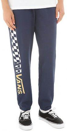 VANS Pánské tepláky Crossed Sticks Fleece Dress Blues VA3HKOLKZ M