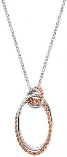 Hot Diamonds Stříbrný náhrdelník s pravým diamantem Jasmine RG DP738