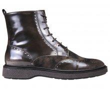 GEOX Dámské kotníkové boty Prestyn Dk Coffee D745WA-038PV-C6024 36
