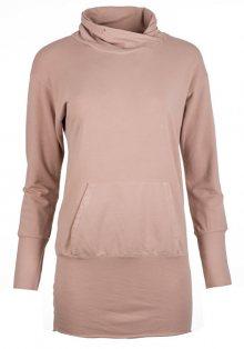 Deha Dámská mikina Long Sweatshirt B84064 Rose Dust XS