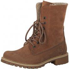 Tamaris Dámské kotníkové boty 1-1-26443-21-540 Brick 37