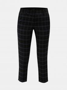 Modro-černé kostkované kalhoty Dorothy Perkins