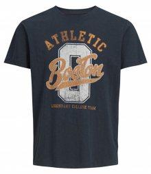 Jack&Jones Pánské triko Superior Tees Ss Crew Neck Total Eclipse Reg S