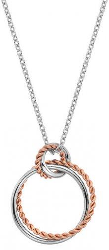 Hot Diamonds Stříbrný náhrdelník s pravým diamantem Jasmine RG DP736