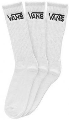 VANS Balení 3ks ponožek Classic Crew White VN000XSEWHT1 42,5-47