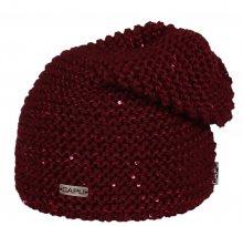 CAPU Zimní čepice 422-E Wine