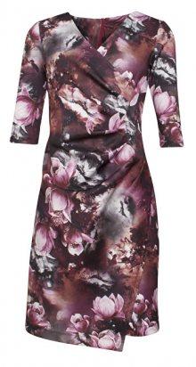 Smashed Lemon Dámské krátké šaty Brown 170041/07 S