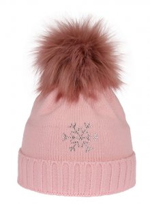 CAPU Zimní čepice 670-A Pink