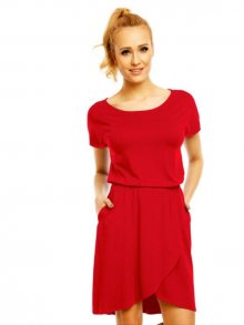 Lental Dámské šaty DRESS GRACE 1-4 RED\n					\n