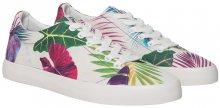 Desigual Dámské tenisky Canvas Vulcanized Sneker Bio Poppy Coral 19SUKW08 7058 38