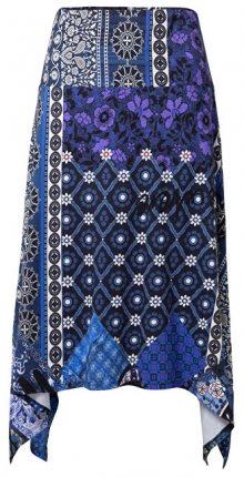 Desigual Dámská sukně Fal Katherine Navy 19SWFK14 5000 S