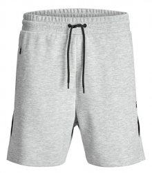Jack&Jones Pánské kraťasy Clean Sweat Light Grey S