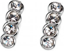 Oliver Weber Náušnice s krystaly Swarovski Four Crystal 9938-001