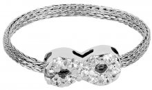 Brilio Silver Stříbrný pletený prsten Nekonečno 421 063 00001 04 - 0,95 g 54 mm