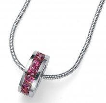 Oliver Weber Stříbrný náhrdelník Circle 61132 PIN (řetízek, přívěsek)