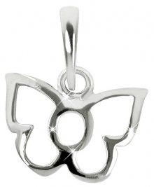 Brilio Silver Dětský stříbrný přívěsek Motýlek 446 154 00178 04 - 0,30 g
