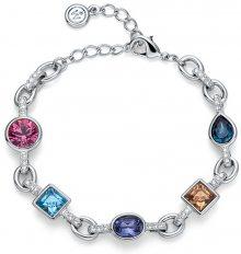 Oliver Weber Náramek s barevnými krystaly Ocean Label 32184