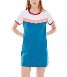 VANS Dámské šaty Invert Dress Blue Sapphire VN0A3UNGUUC1 S