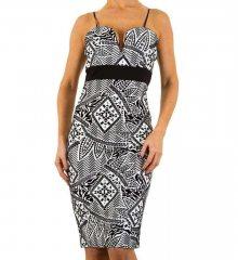 Dámské módní šaty Evita Gold