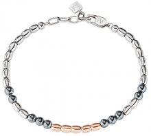 Morellato Pánský ocelový bicolor náramek Ematite SAHT14