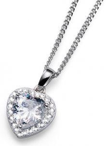 Oliver Weber Stříbrný náhrdelník Meaning 61122 WHI (řetízek, přívěsek)