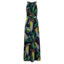 Smashed Lemon Dámské šaty Black/Green 19002 S