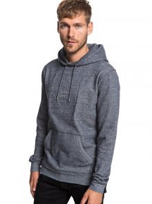Quiksilver Pánská mikina Global Grasp Hood Navy Blazer Heather EQYFT03929-BYJH M