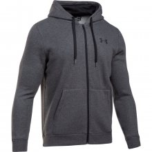 Under Armour Rival Fitted Full Zip šedá M
