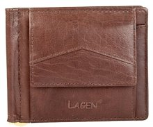 Lagen Pánská peněženka W-2018 Brown