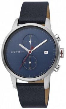 Esprit Linear Silver D.Blue ES1G110L0015