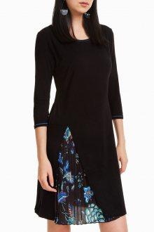 Desigual černé šaty Karin - M