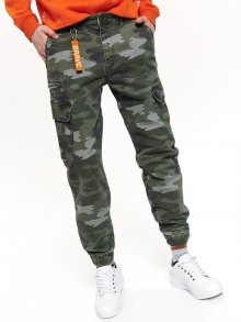 Kalhoty camo 32
