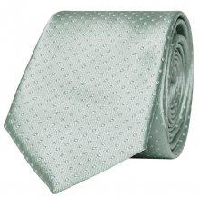 ONLY&SONS Pánská kravata Theo Satin Tie Grayed Jade