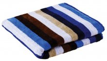 SCUBA - pruhovaný ručník