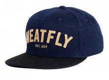 Meatfly Kšiltovka District Snapback C Navy/Black