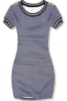 Modro-bílé šaty pepito