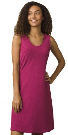 Prana Dámské šaty Calico Dress Cosmo Pink S
