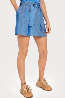 Scotch & Soda modrá sukně s páskem - XS