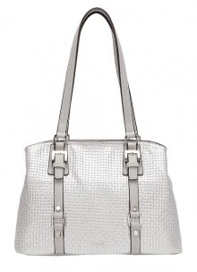 Tamaris Kabelka Malou Shoulder Bag 3109191-919 Silver Comb.