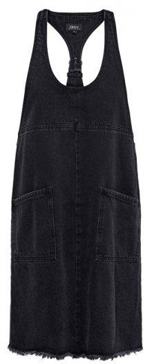 ONLY Dámské šaty Tenna Dnm Spencer Dress Black 34