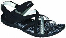 LOAP Dámské sandály Caipa Black/Bl De Blanc SSL18130-V11A 37