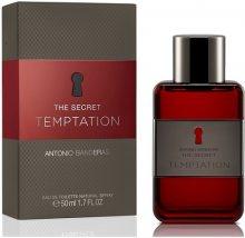 Antonio Banderas The Secret Temptation toaletní voda pánská 50 ml