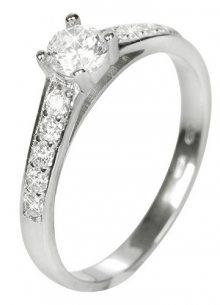 Brilio Dámský prsten s krystaly 229 001 00668 07 - 1,90 g 57 mm