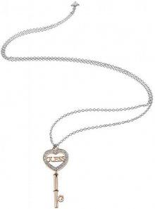 Guess Luxusní náhrdelník s klíčem UBN83098